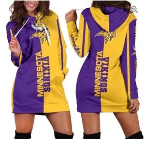 Minnesota Viking sweatshirt dress